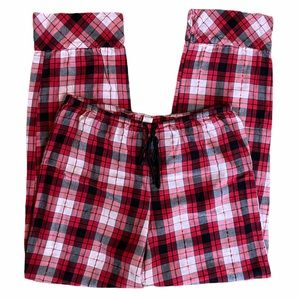 Victoria's Secret Black and Red Plaid Size Small